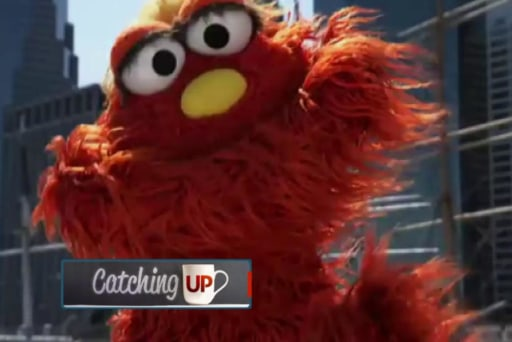Sesame Street takes a jab at the Patriots