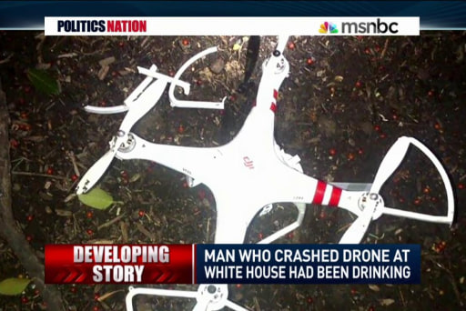 WH scandal: Droning while drunk?