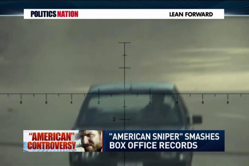The cultural effect of 'American Sniper'