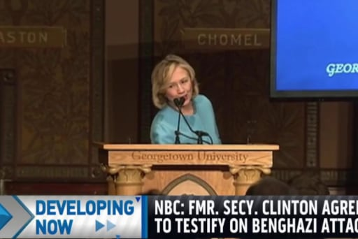 Clinton may testify before Benghazi cmte