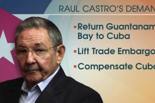 New demands as US, Cuba seek normalization