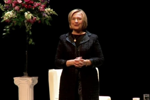 Backstage trouble for Hillary?