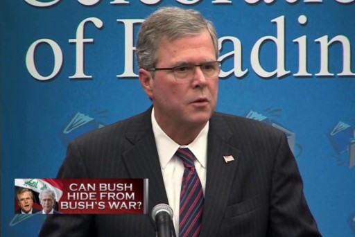 Can Jeb Bush hide from his brother's war?