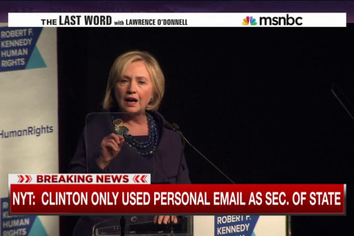 NYT: Secy. Clinton's emails scrutinized