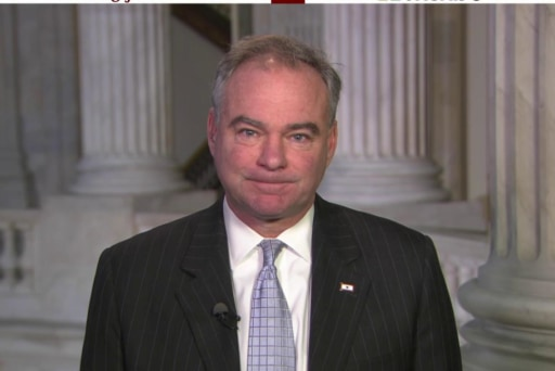 Kaine: Ground troops a priority in AUMF...