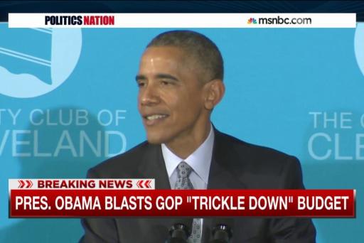 Pres. Obama slams GOP's spending slash