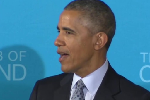 Obama on GOP critics: 'Run the tape back'