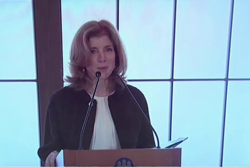 Death threats sent to Amb. Caroline Kennedy