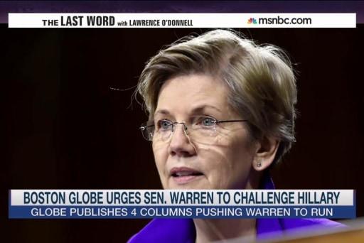Boston Globe really wants Sen. Warren to run