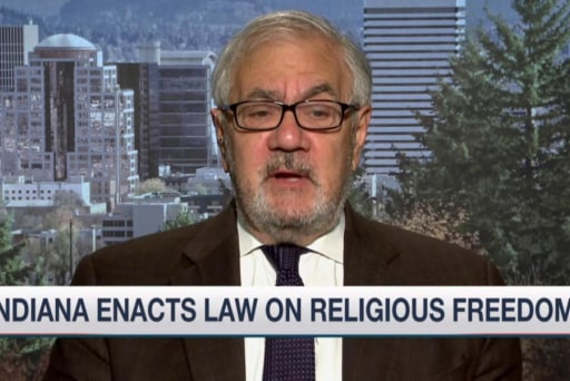Frank on impact of religious freedom law