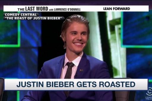 Behind the scenes: Justin Bieber's roast