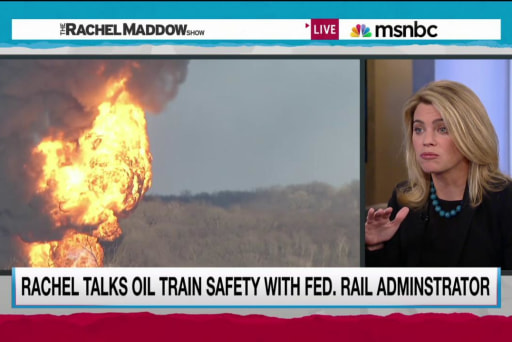 Exploding trains push new safety proposals