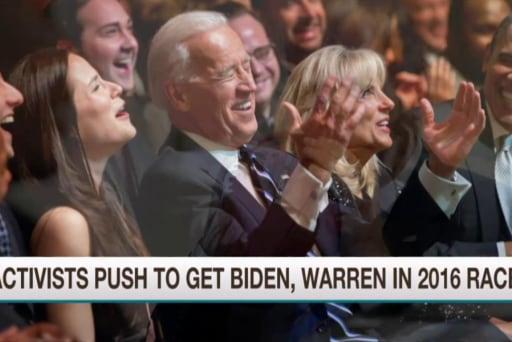 Push to get Biden, Warren in 2016 race