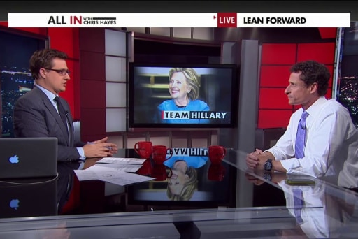 Anthony Weiner talks Clinton and 2016