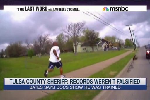 Tulsa Sheriff: Bates was properly trained
