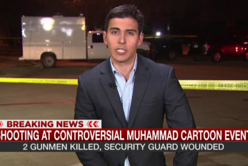 Tweets sent before Texas Muhammad shooting