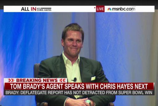 Tom Brady's agent speaks to 'All In'