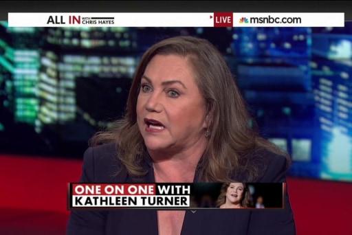 Kathleen Turner comes under fire