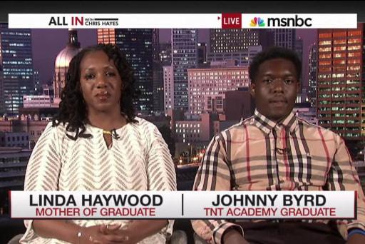 Graduate discusses principal's racist remarks