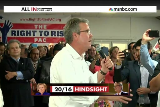 Jeb Bush would have authorized the Iraq War
