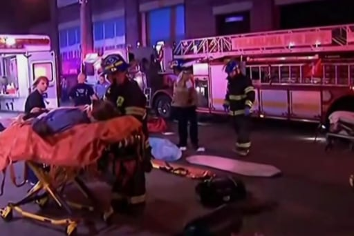 City of Brotherly Love reacts to train...
