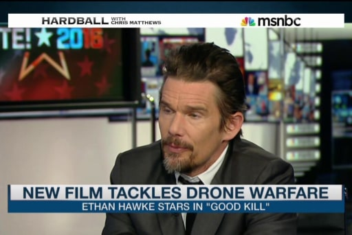 Actor Ethan Hawke weighs in on the drone...