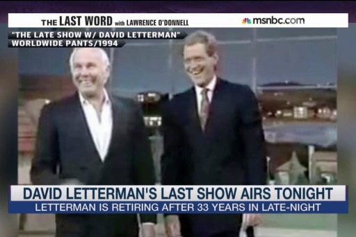 When Carson Delivered Letterman's Top 10