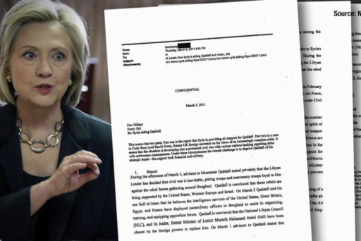 Clinton email release reveals Libya concerns