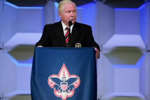 Boy Scouts pres. calls out ban on gay leaders