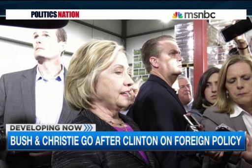 Hillary fires back on Obama's GOP critics