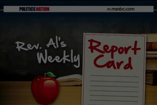 Rev. Al's Weekly Report Card 5/22/15
