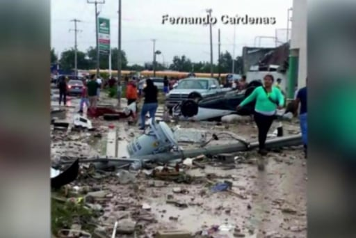 Deadly tornado devastates Mexican border town