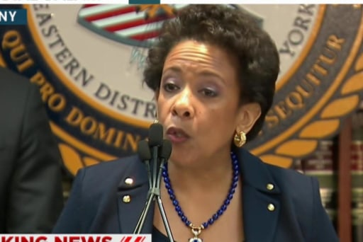 Lynch: DOJ will 'root out corruption' in FIFA