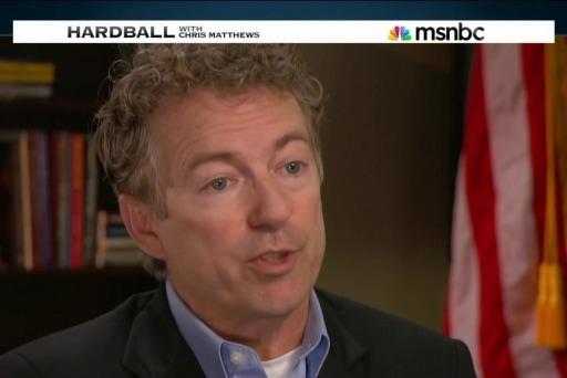 Sen. Rand Paul plays Hardball