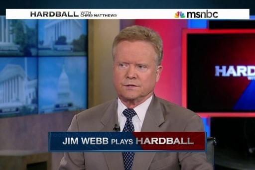 Jim Webb plays Hardball