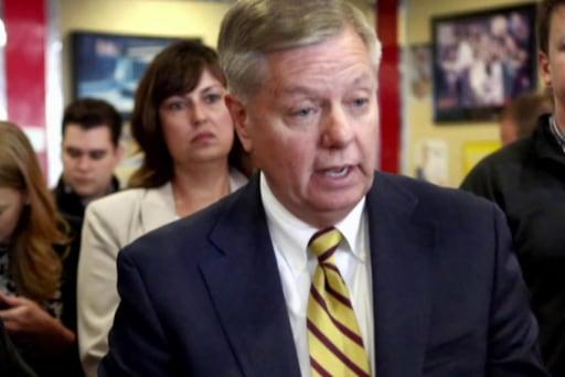 Lindsey Graham's tough Mideast argument