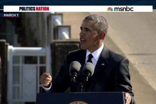 Inside President Obama's historic Selma...