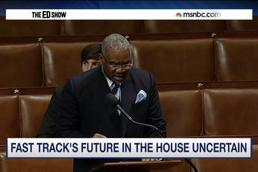 'Fast track' vote may come down to Black...