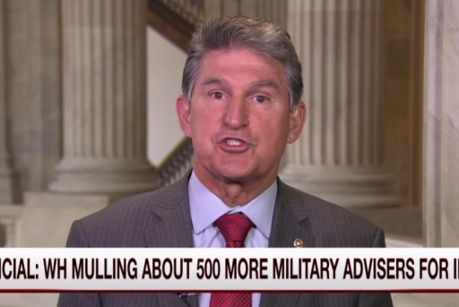 Manchin: More money, troops in Iraq won't...