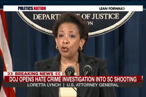 DOJ opens hate crime case in Charleston