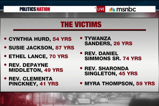 Remembering the Emanuel AME victims