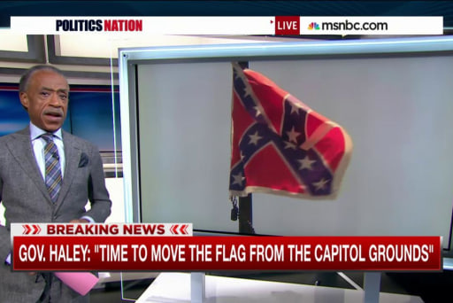 Gov. calls for removal of Confederate Flag