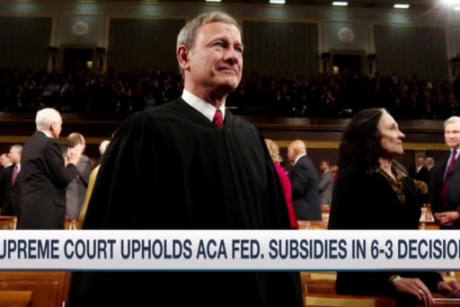 Inner-workings of Supreme Court's ACA ruling