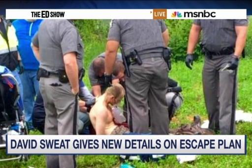 Escapee reveals prison break details