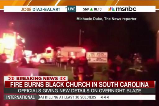 Seventh southern Black Church burns