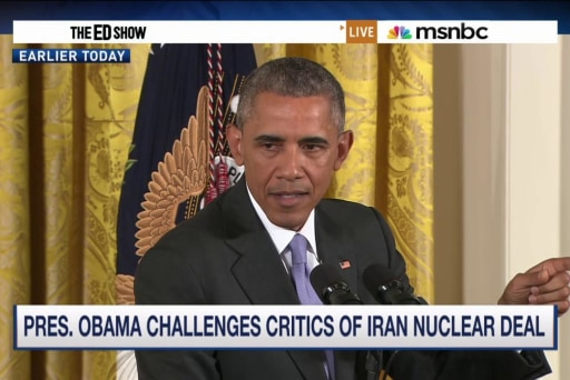 Obama challenges Iran deal critics