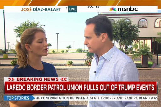 Border Patrol Union pulls out of Trump events