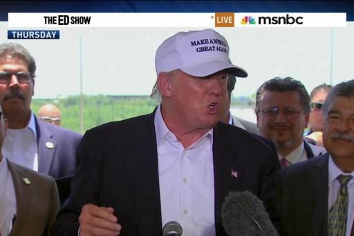 Despite criticism, Trump surges