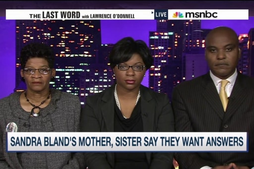 Bland's mom: 'What happened to my daughter?'