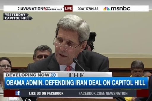 Defending Iran deal on Capitol Hill